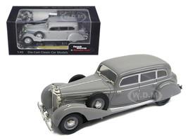 1938 Mercedes 770K Sedan Grey 1/43 Diecast Car Model Signature Models 43701