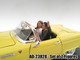 Seated Couple 2 Piece Figure Set Release 1 for 1:24 Models American Diorama 23828