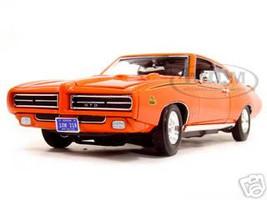 1969 Pontiac GTO Judge Orange 1/18 Diecast Model Car Motormax 73133
