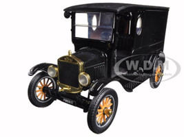 1925 Ford Model T Paddy Wagon Black 1/24 Diecast Model Car Motormax 79316
