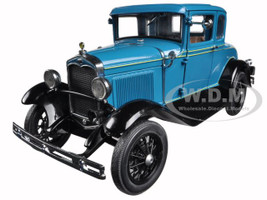 1931 Ford Model A Coupe Blue 1/18 Diecast Model Car Sunstar 6130