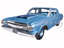 1963 Dodge 330 Blue 1/18 Diecast Model Car Maisto 31652