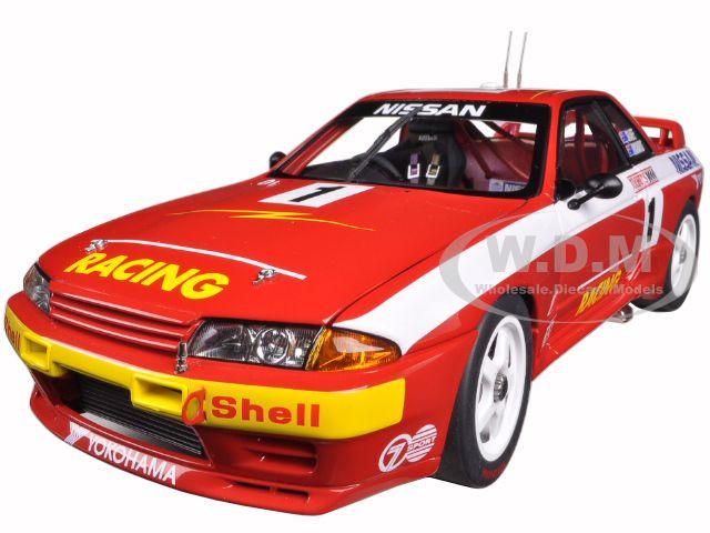 Nissan Skyline GT-R (R32) Australian Bathurst Winner 1992 Richards/Skaife #1 1/18 Diecast Model Car AutoArt 89279