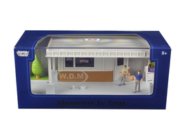 "Big 8 Motel Scene"" Diorama Put Your Own Car Inside 1/43 Motormax 73863 N"