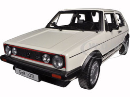 Volkswagen Golf 1 GTI White 1/18 Diecast Model Car Welly 18039