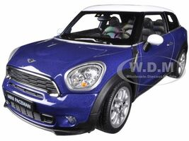 Mini Cooper S Paceman Blue 1/24 Diecast Model Car Welly 24050