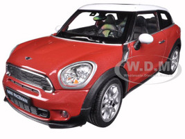 Mini Cooper S Paceman Red 1/24 Diecast Model Car Welly 24050