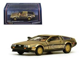 De Lorean DMC 12 Coupe Gold 1/43 Diecast Model Car Vitesse 24001