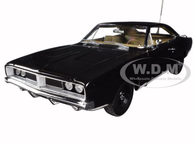 1969 Dodge Charger Black Happy Birthday General Lee 1 18 Diecast