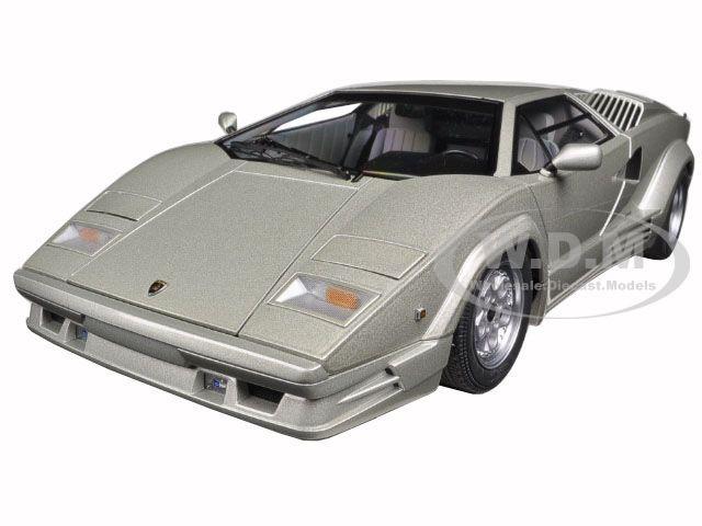Lamborghini Countach 25th Anniversary Edition Silver The Last