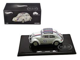VW Volkswagen Beetle #53 Love Bug Herbie Goes To Monte Carlo Elite Edition 1/43 Diecast Model Car Hotwheels BLY28