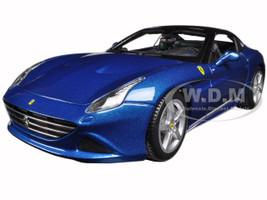 Ferrari California T (closed top) Blue 1/18 Diecast Model Car Bburago 16003