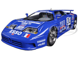 Bugatti EB 110 Blue #34 La Mini Mineria 1/18 Diecast Car Model Bburago 11039