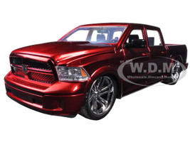 2014 RAM 1500 Pickup Truck Custom Edition Red Just Trucks Series 1/24 Diecast Model Car Jada 54040