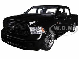 2014 RAM 1500 Pickup Truck Custom Edition Black Just Trucks Series 1/24 Diecast Model Car Jada 54040