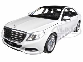 Mercedes Benz S Class White 1/24 1/27 Diecast Model Car Welly 24051