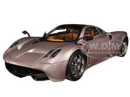 Pagani Huayra Champagne Gold Limited Edition Platinum Collection 1/18 Diecast Model Car Motormax 77160