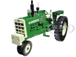 Oliver 1750 Gas Narrow Front Tractor with Radio and Front Weight 1/16 Diecast Model Speccast SCT510