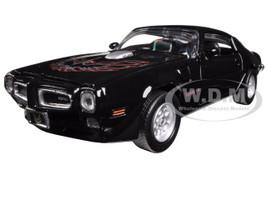 1973 Pontiac Firebird Trans Am Black 1/24 Diecast Model Car Motormax 73243