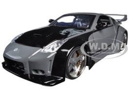 "D.K.'s Nissan 350Z Black ""Fast & Furious"" Movie 1/24 Diecast Model Car Jada 97172"
