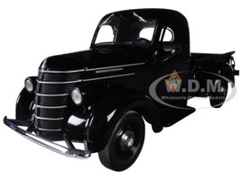 1938 International D-2 Allis-Chalmers Pickup Truck Black 1/25 Diecast Model First Gear 40-0361