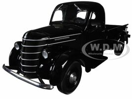 1938 International D-2 Pickup Truck Black 1/25 Diecast Model First Gear 40-0360