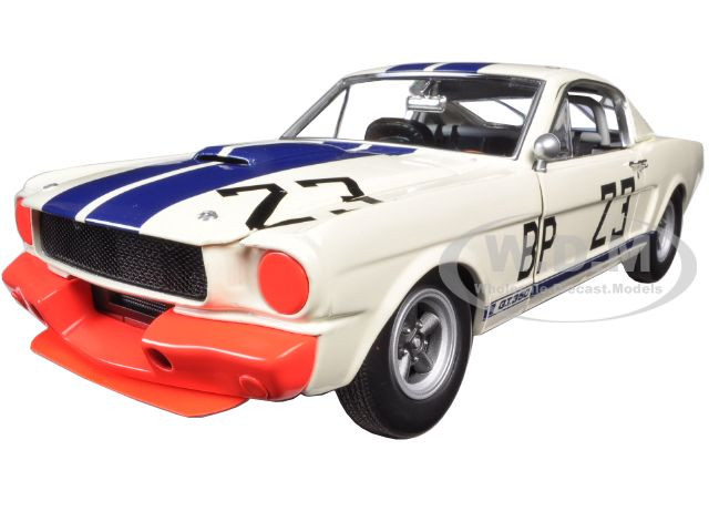 1965 Ford Shelby Mustang GT350 R #23 Charlie Kemp The Winningest Shelby Ever Limited to 996pcs1/18 Acme A1801812