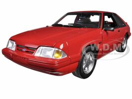 1993 Ford Mustang LX 5.0 Vermillion Red Limited Edition 1/18 Diecast Model Car GMP 18804