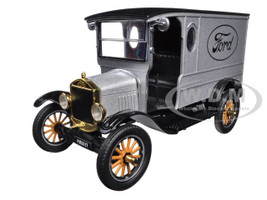 1925 Ford Model T Paddy Wagon Silver 1/24 Diecast Model Car Motormax 79329