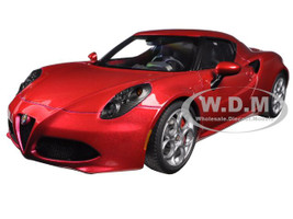 Alfa Romeo 4C Competition Red 1/18 Model Car Autoart 70186