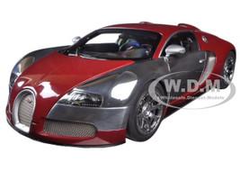 Bugatti EB Veyron L'Edition Centenaire Italian Red/Achille Varzi 1/18 Diecast Model Car Autoart 70957