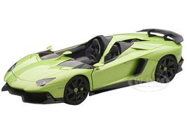 Lamborghini Aventador Roadster J Green 1/43 Diecast Model Car Autoart 54654