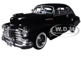 1948 Chevrolet Aerosedan Fleetline Black 1/24 Diecast Model Car Motormax 73266