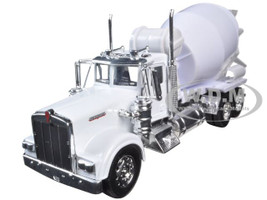 Kenworth W900 Cement Mixer Truck 1/32 Diecast Model New Ray 10533 C