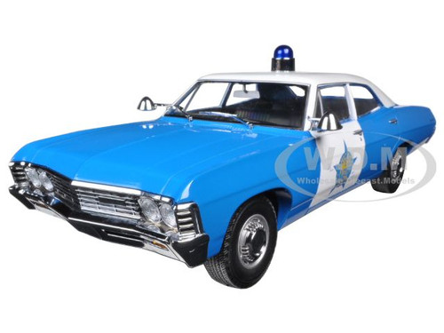 1967 Chevrolet Biscayne City of Chicago Police Department (CPD) 1/18 Diecast Model Car Greenlight 19009