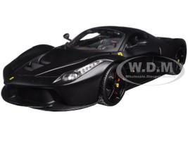 Ferrari LaFerrari F70 Matt Black Signature Series 1/18 Diecast Model Car Bburago 16901