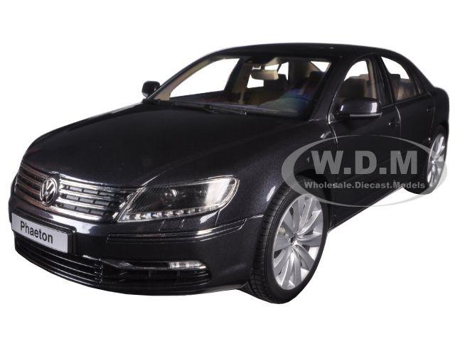 Volkswagen Phaeton Mazzepa Grey 1/18 Diecast Model Car Kyosho 08831 MBK