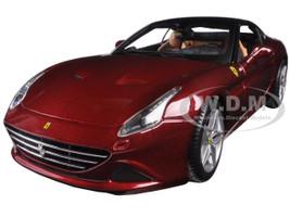 Ferrari California T Closed Top Red Signature Series 1/18 Diecast Model Car Bburago 16902