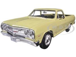 1965 Chevrolet El Camino Yellow 1/25 Diecast Model Car Maisto 31977