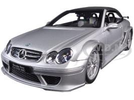 Mercedes CLK DTM AMG Convertible Silver 1/18 Diecast Model Car Kyosho 08462