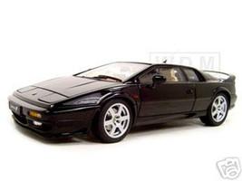 Lotus Esprit V8 Black 1/18 Diecast Model Car Autoart 75312