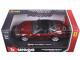 Ferrari California T Burgundy Closed Top 1/24 Diecast Model Car Bburago 26002