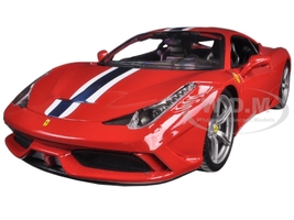 Ferrari 458 Speciale Red 1/18 Diecast Model Car Bburago 16002