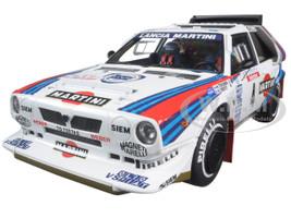 """Lancia Delta S4 """"Martini"""" Tour De Corse 1986 Toivonen / Cresto #4 1/18 Diecast Model Car Autoart 88620"""