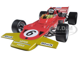 Lotus 72C #6 Jochen Rindt 1970 Austrian Grand Prix 1/18 Diecast Model Car Quartzo 18272