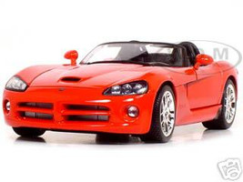 2003 Dodge Viper SRT-10 Red 1/18 Diecast Model Car by Maisto 31632