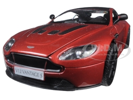 Aston Martin Vantage S V12 Red 1/24 Diecast Model Car Motormax 79322