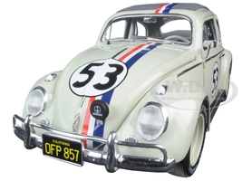 1963 Volkswagen Beetle Herbie Goes to Monte Carlo #53 Elite Edition 1/18 Diecast Model Car Hotwheels BLY22