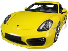 2013 Porsche Cayman Yellow Limited Edition to 1002pcs 1/18 Diecast Model Car Minichamps 110062220