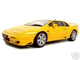 Lotus Esprit V8 Yellow 1/18 Diecast Model Car Autoart 75313